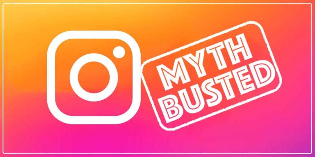 Instagram myths busted