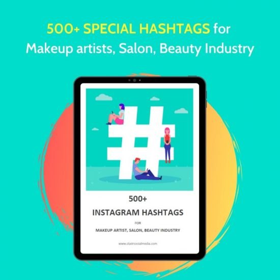500+ Instagram hashtags for makeup artists and beauty industries